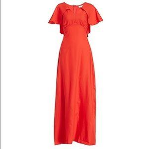Glamorous cape maxi dress